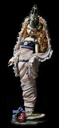 BJD, cabinet de curiosité, Giovanna Gabrielli, perle cendres,