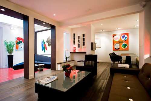 Hôtel Elysées Mermoz, art hotel, galerie d'art, soizic stokvis,