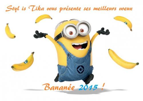 voeux 2015; bonne année,minions,happy,pharrell williams