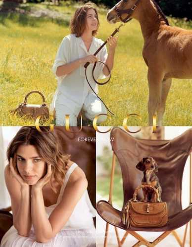 gucci,sac bamboo,charlotte casiraghi,magazine vogue,lady oua oua,blog culture,blog styl is tika,people avec leur chien,les chiens des people