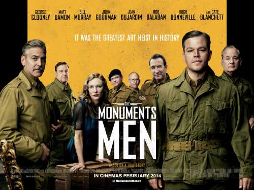 Monument Men, George Clooney, Hitler, spoiliation des juifs, trésor nazi,
